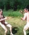 boxing at the lake
