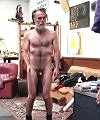 naked old man dancing
