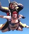 skydiving naked
