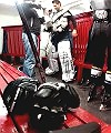 ice hockey locker room