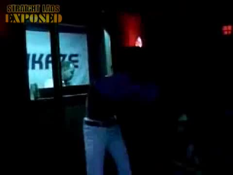 amateur stripper in nightclub