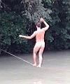 naked slack line