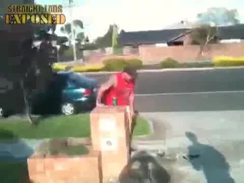 aussie guy gets naked in street