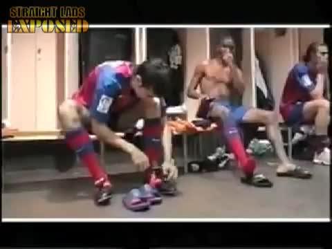 barcelona naked lockerroom
