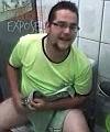 ricardo in the toilet