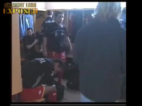 black lad in locker room