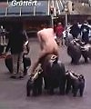 naked man in bremen
