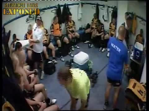 Castleford Tigers locker room