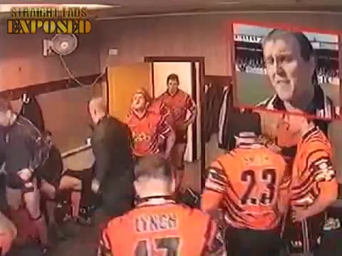 Castleford Tigers exposed in locker room