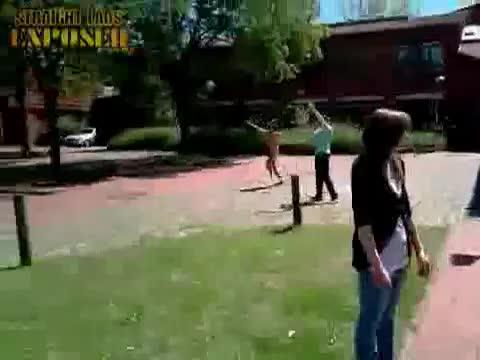 University streaker