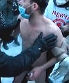 naked protestor