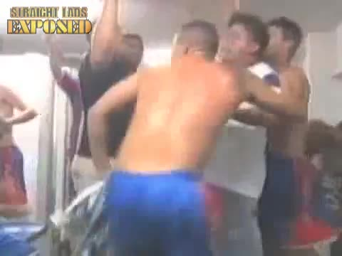 brazilian players locker room