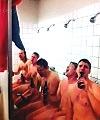 locker room singing