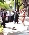 naked in Williamsburg Brooklyn