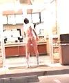 Naked Wataburger stroll