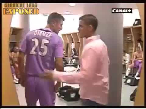 french footballers changing room