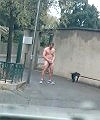 naked in street marseille