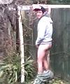 backyard toilet