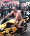 naked on motorbikes