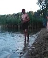 skinny dip at lake