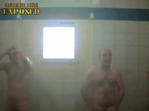 Naked rugby song in shower