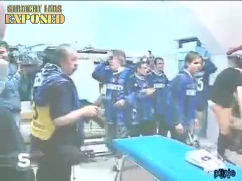 inter milan players in locker room