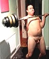 naked weight lifting