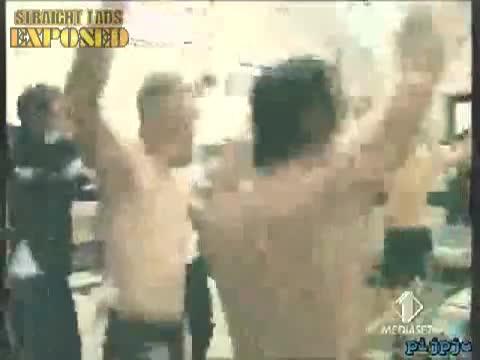 italian footballers bulging