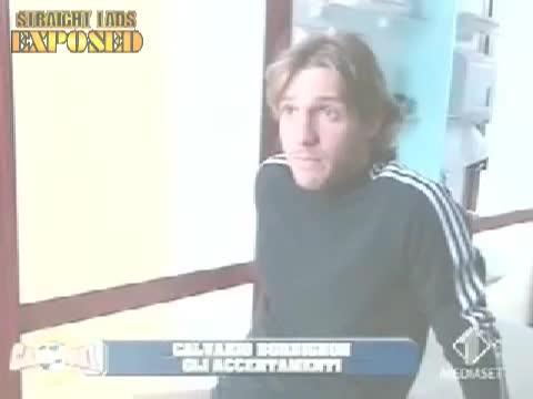 italian football locker room lads