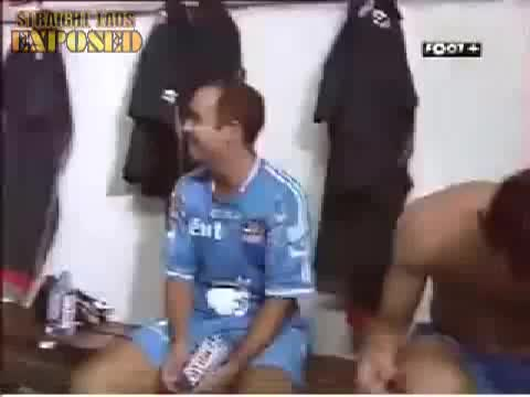 italian football players locker room
