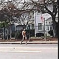 NAKED MAN ON NORWOOD AVE SACTOWN