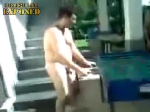 naked fussball on holiday