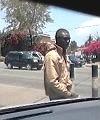 black man wanking