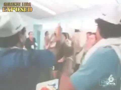 locker room football celebrations