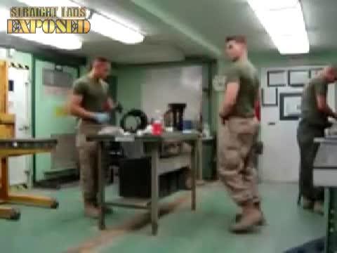 marines dancing