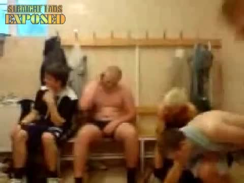 naked rugby players in locker room