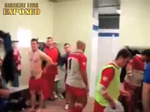 rugby players naked locker room