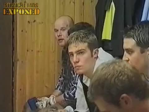 amateur players in locker room