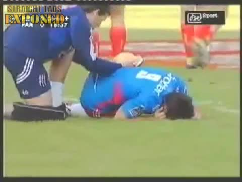 rugby ass gets some attention