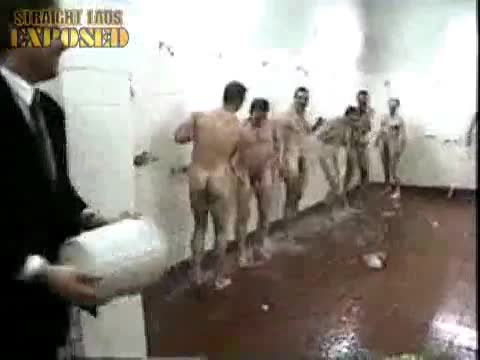 naked afl players in showers