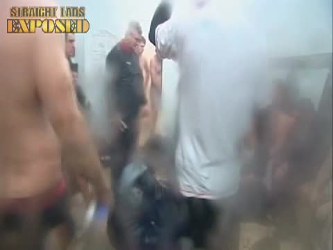 nude rugby players in locker room