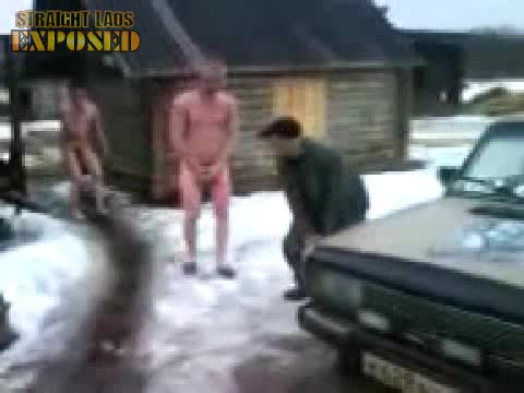 naked lads in snow