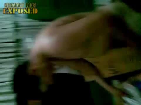 naked lad ironing