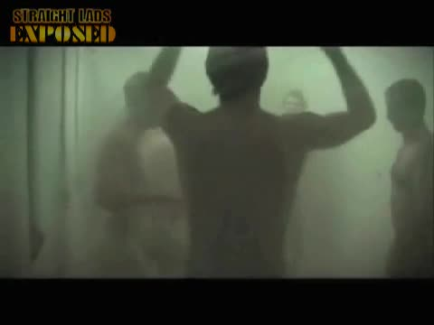 naked rugby players showering