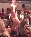 Stripper On A Chair