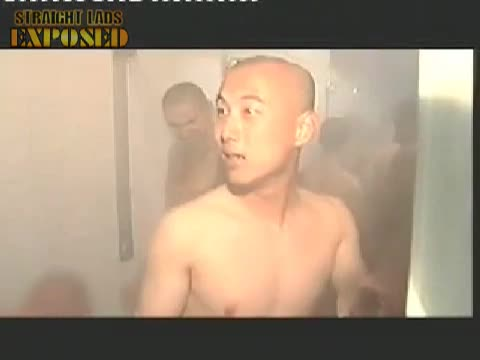 naked soldiers showering 2