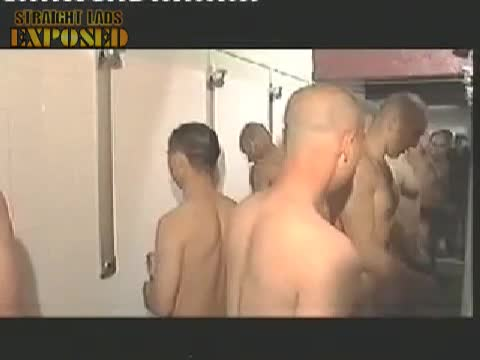 naked soldiers showering 3
