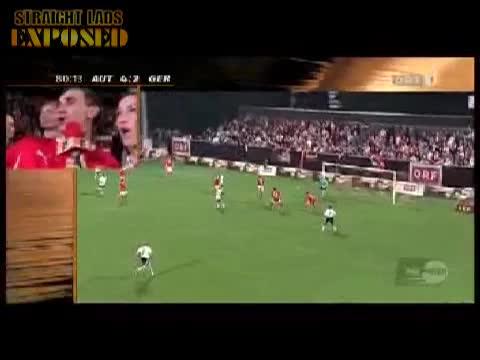 streaker invades match
