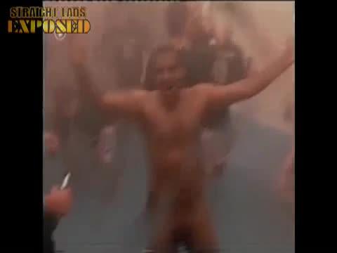 naked football player dick dance