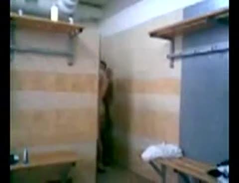 Porth Harlequins RFC naked in locker room